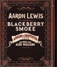 Aaron Lewis on tour with Blackberry Smoke