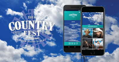 Country Fest Releases Smartphone App