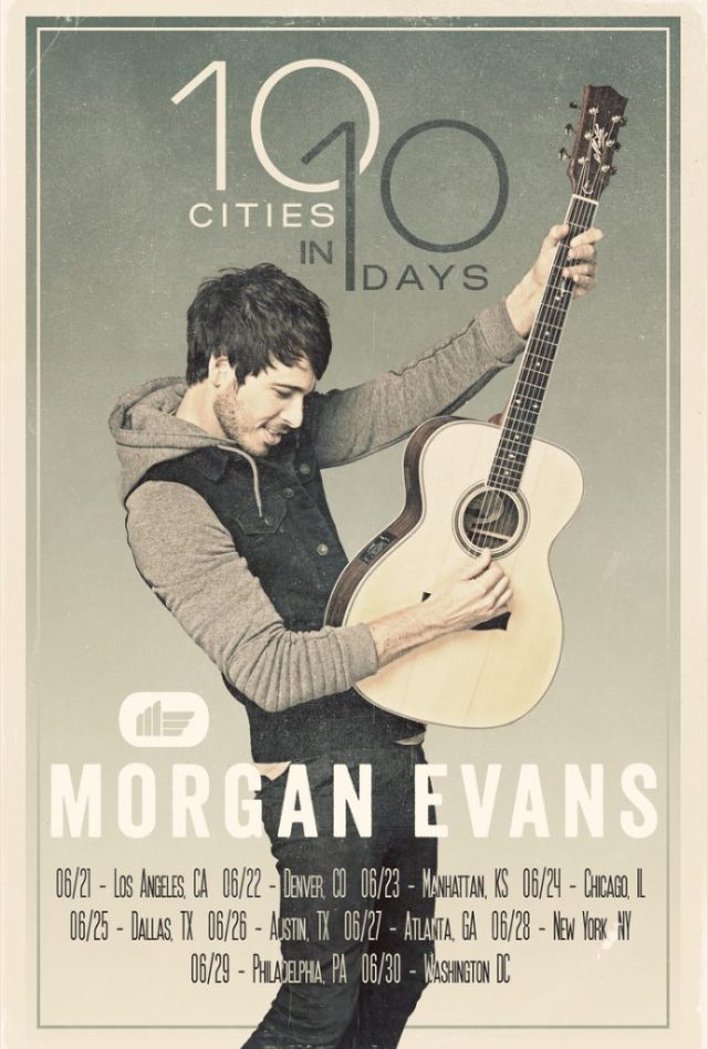 Morgan Evans Tour