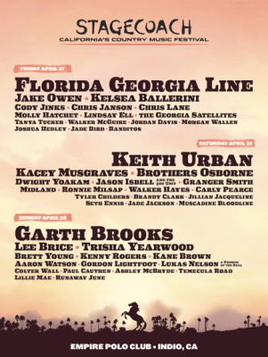 Stagecoach Country Music Festival Tickets