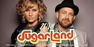 Sugarland Tickets 2018 from Country Music On Tour