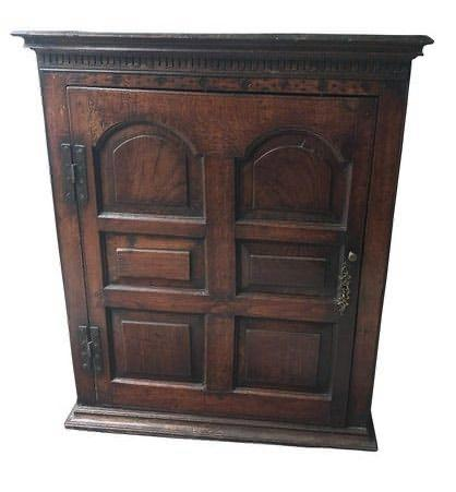 Hanging cupboard, England or Wales 18th century Front Facing