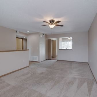 2 Bedroom Apartment, Living Room