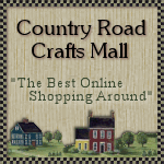 A marketplace of country primitive crafts