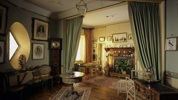 The Drawing Room at A La Ronde, Devon