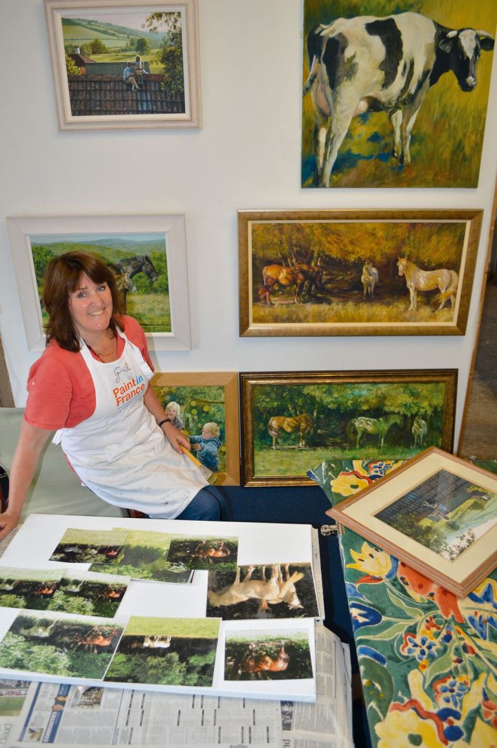 Gill in her Studio_preview