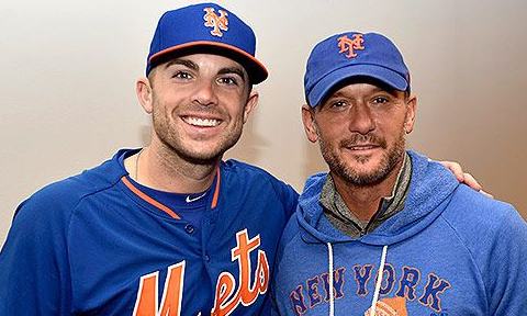 Tim McGraw New York Mets