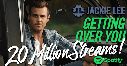 Jackie Lee - Getting Over You 20 Million Streams