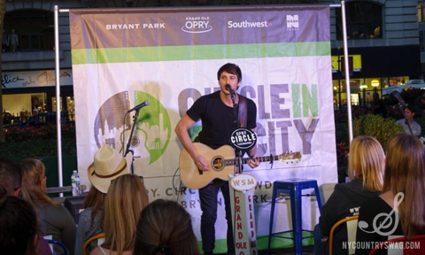Morgan Evans, Opry Circle in the City