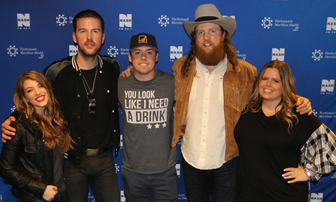 Brothers Osborne with NYCountry Swag