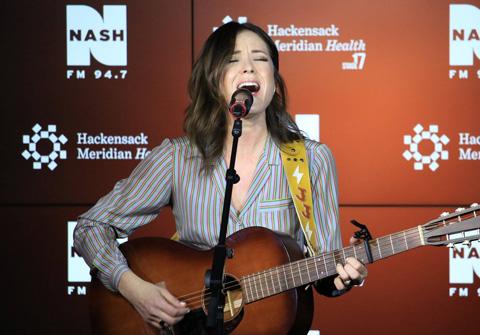 Jillian Jacqueline at Nash FM 94.7 HMH Stage 17