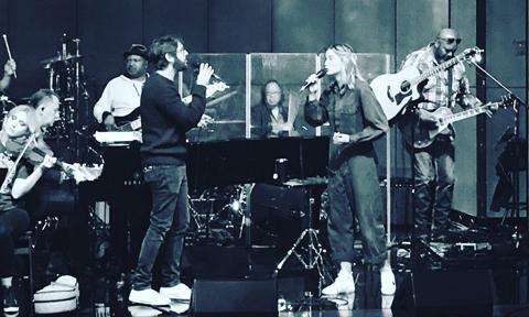 Josh Groban & Jennifer Nettles, Photo via @JenniferNettles on Instagram