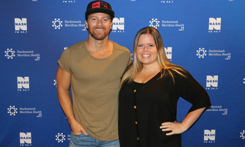Kip Moore with NYCountry Swag Founder, Stephanie Wagner