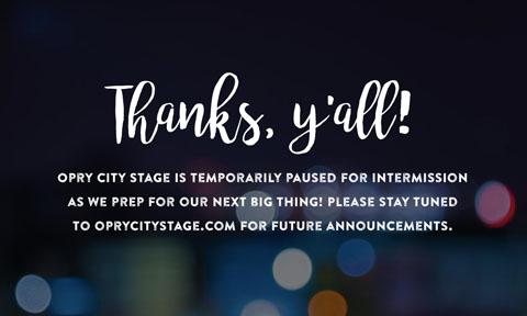 Message shared on oprycitystage.com