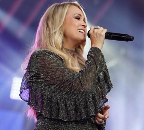 Carrie Underwood Jimmy Kimmel Live
