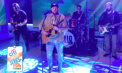 Today Show Debut Mitchell Tenpenny