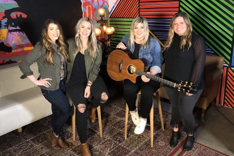 NYCountry Swag's Christina Bosch and Stephanie Wagner with Jill and Kate
