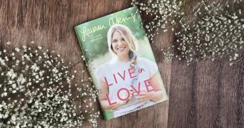 Live in Love Lauren Akins
