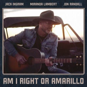 """Miranda Lambert, Jack Ingram, Jon Randall's """"Am I Right or Amarillo"""" off 'The Marfa Tapes' is available now, March 26th."""