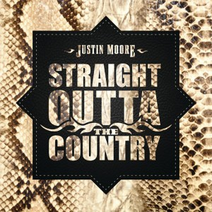 Justin Moore's new album, 'Straight Outta The Country' is available now, April 23rd