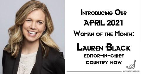 April 2021 Woman of the Month: Lauren Black
