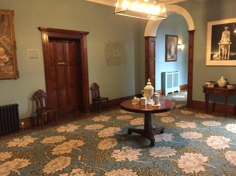 Inside eynsham hall hotel