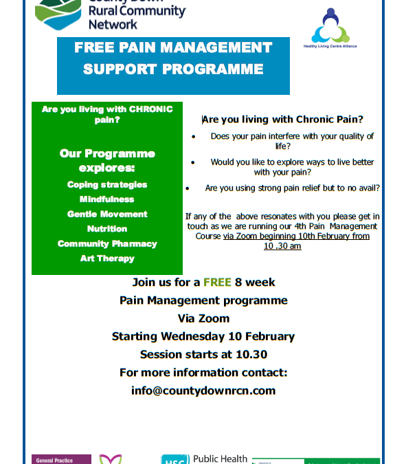 Are you living with chronic pain?
