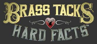 Brass Tacks and HArd Facts Logo