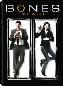 The Cover art for the DVD of Season 2 of Bones