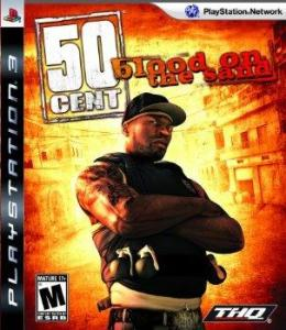 Box art for 50 Cent Blood on the Sand