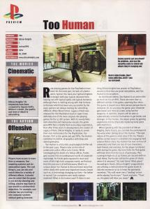 Preview article about Too Human