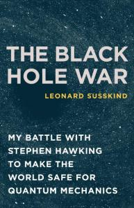 Cover art for The Black Hole War