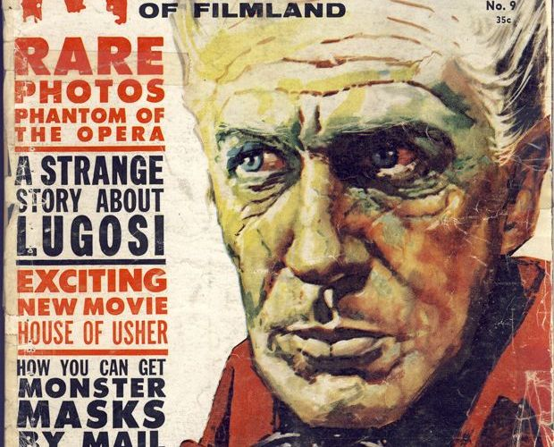 Cover for Famous Monsters of Filmland #9