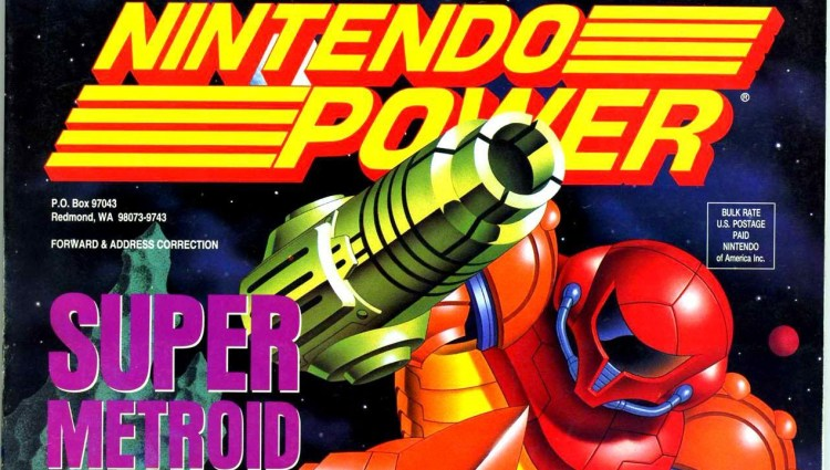 Snippet of the cover for Nintendo Power #60