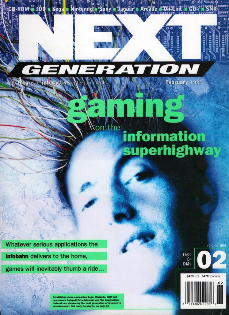 Cover of Next Generation Issue #2
