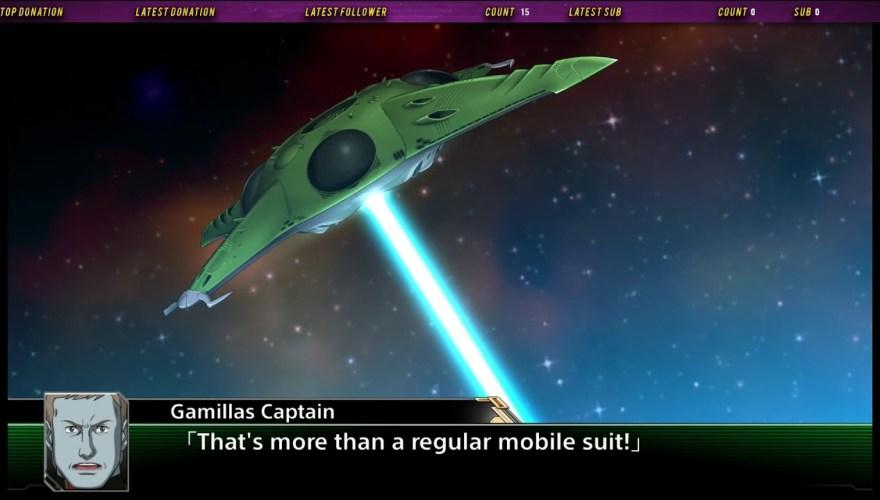 Gamillan warship launching an attack.