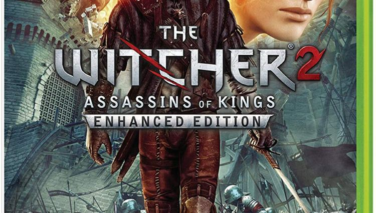 Xbox 360 Box Art for The Witcher 2
