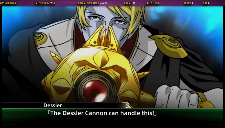 Dessler prepares to fire the Dessler Cannon