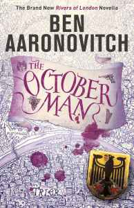 "Book cover of ""The October Man"""