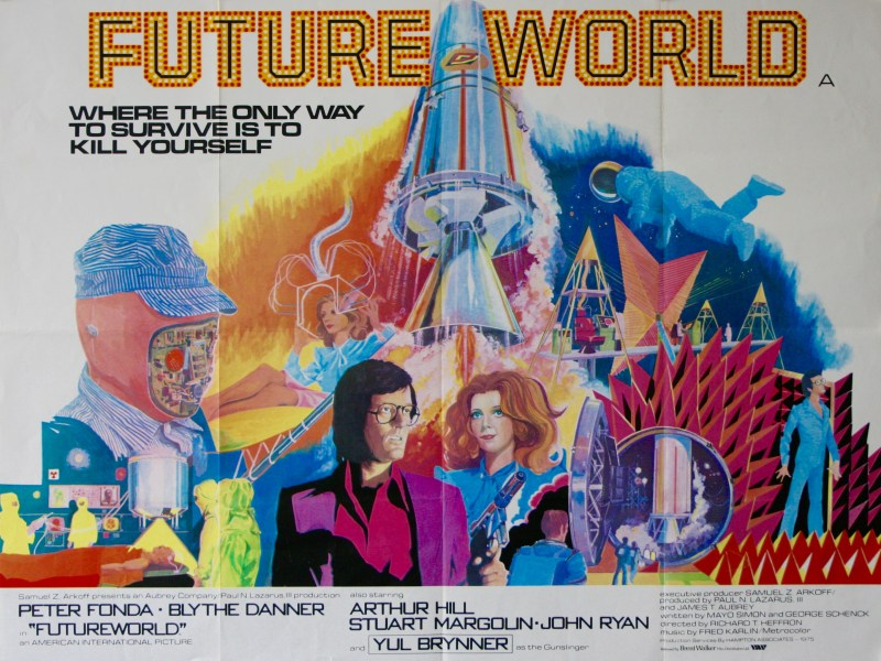 Movie poster for Futureworld
