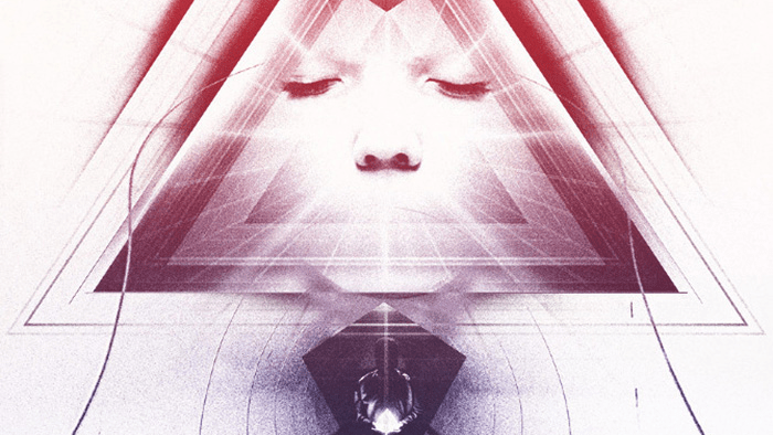 Cropped portion of the poster for Beyond the Black Rainbow