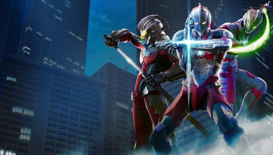 From Left - Ultra Seven, Ultraman, and Ultraman Ace from Season 1 of Ultraman