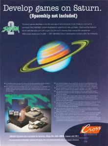 Ad for Saturn Dev Kits