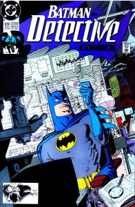 Cover of Detective Comics #619