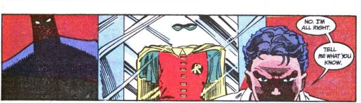 Tim Drake is all business.