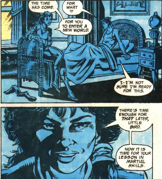 Robin and Shiva have a misunderstanding.