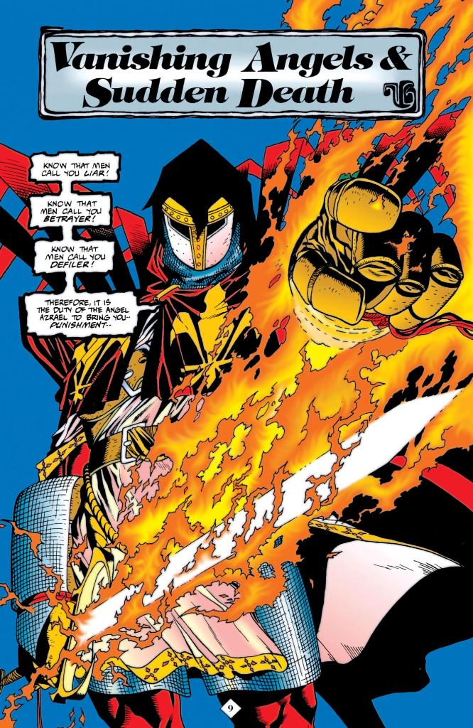 Azrael gives his Justice Speech