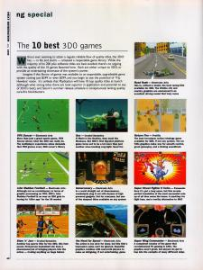 Next Generation's picks for the 10 best 3DO games.