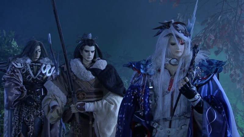 From Right, Sharp Eyed Impaler, Shang Bu Huan, and Enigmatic Gale from Thunderbolt Fantasy