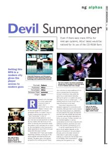 Preview of Devil Summoner